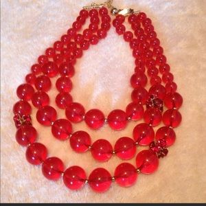 Kate Spade necklace with faceted accents